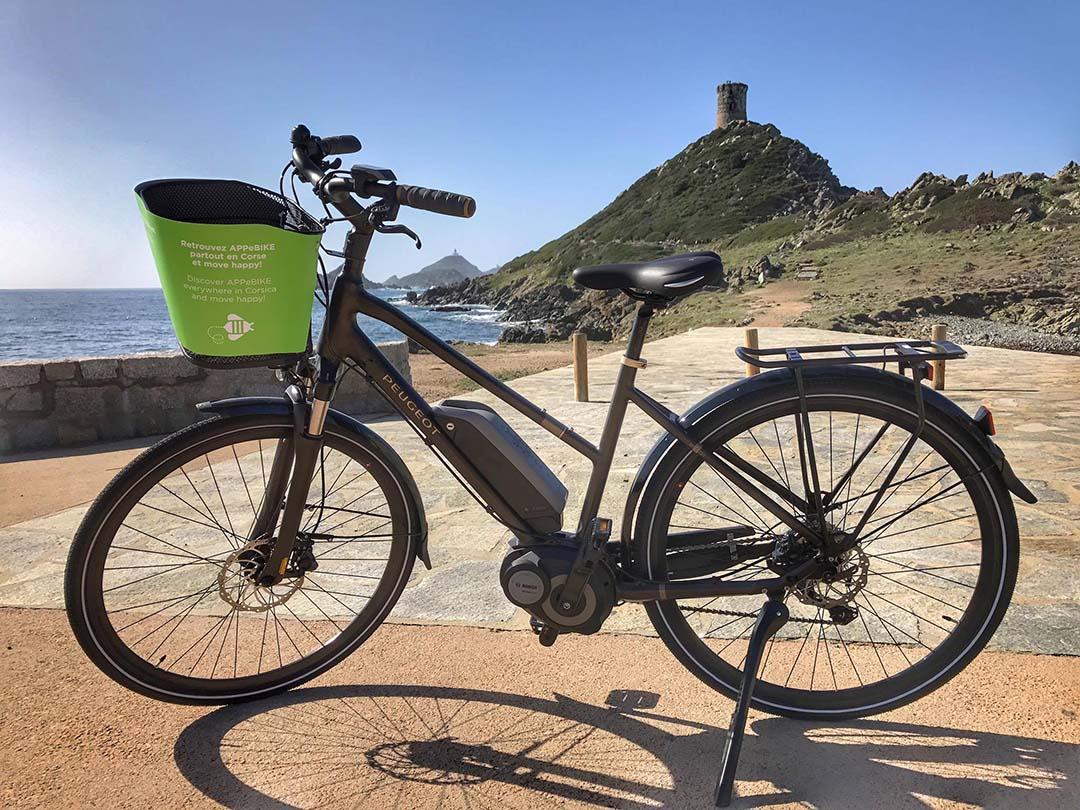 Cet été je loue un vélo électrique en Corse !