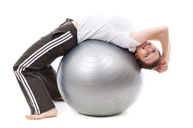 Le swiss ball : ballon de gymnastique pour se muscler en douceur