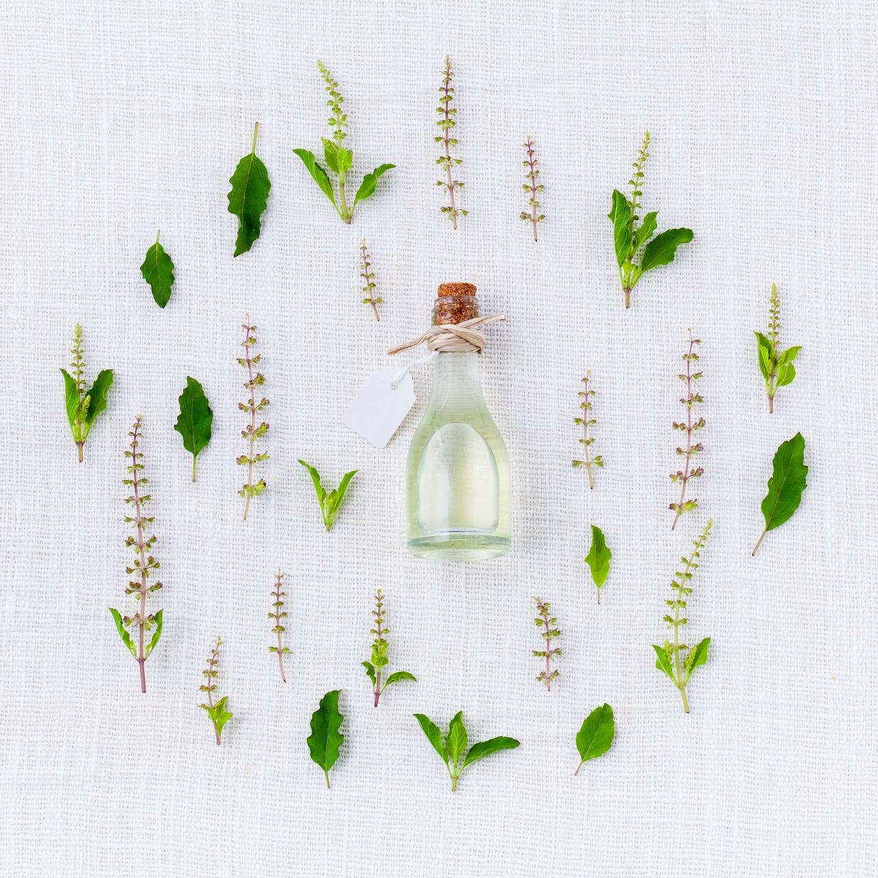 Les huiles végétales et les huiles essentielles