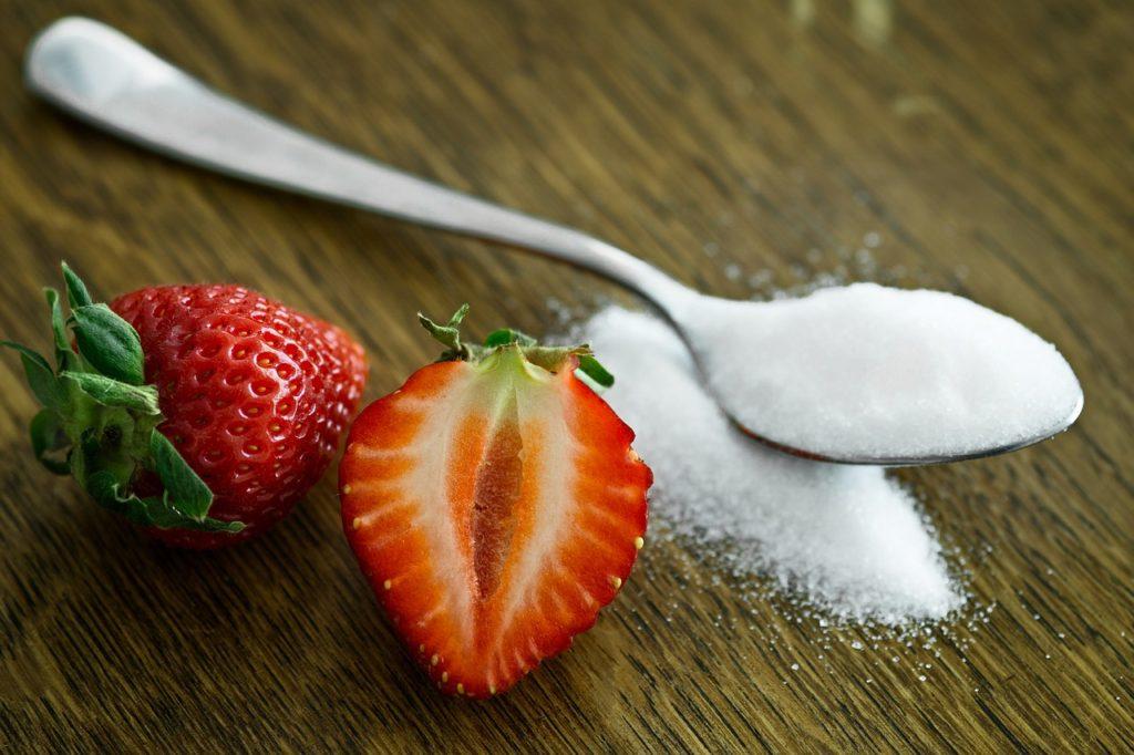 j'arrête le sucre avec les fraises